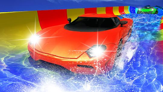 Water Slide Car Racing adventure 2019 3