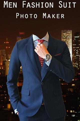 Men Fashion Suit Photo Maker
