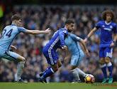 Chelsea won met 1-3 bij Manchester City, maar de wedstrijd werd ontsierd door een opstootje