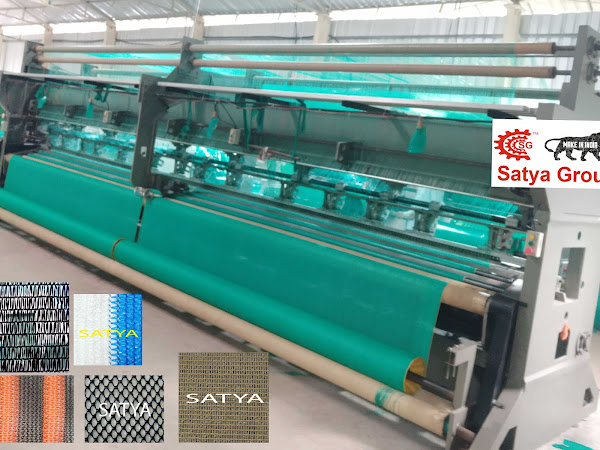 BEST AGRO SHADE NET MACHINE MANUFACTURERS, WARP KNITTING