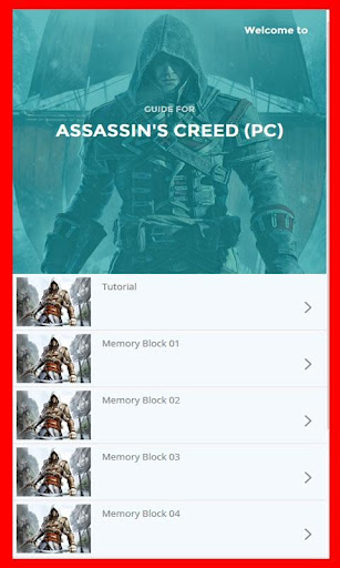 Guide for Assassins Creed Pc