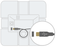 Diagram: speakermic with USB port