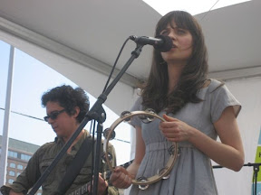 She and Him at the Current Party