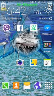 zlostný žralok bezva obrazovky - náhled
