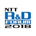 NTT R&D Forum 2018 icon