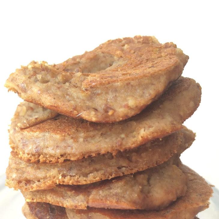 Mocha Protein Pancakes [low carb, grain free, vegan, clean]