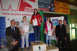Photo: Mistrzostwa Polski LOK Tarnów (01.06) J. Ostrowska (IIc) I miejsce w konkurencji ppn 30 i I miejsce w psp 30 część szybka.