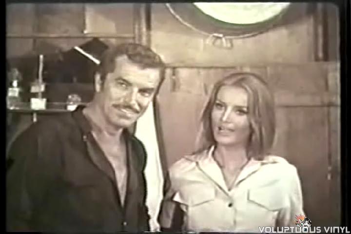 Fernando Lamas and Barbara Bouchet in Tarzan