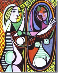 Girl Before Mirror Pablo Picasso
