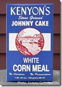 Kenyon's cornmeal box