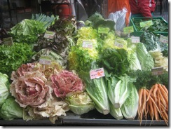 Lettuce at Bern market