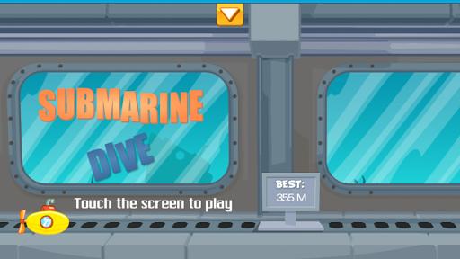 Submarine Dive Ocean