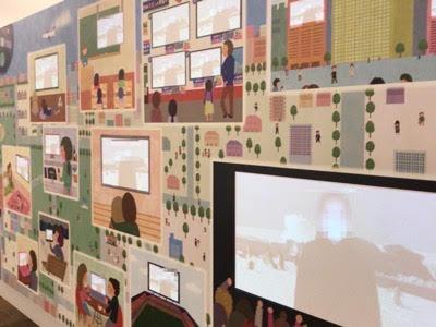 NHK放送博物館1階「みんなに届け! ミュージアムチャンネル」