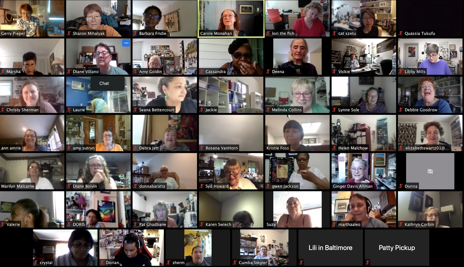 Zoom Meeting Image from Clay ConneCTion