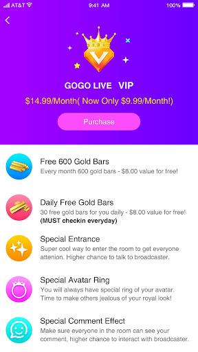GOGO LIVE screenshot 4