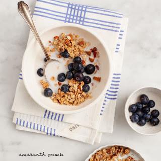 Breakfast Bowl With Amaranth Granola
