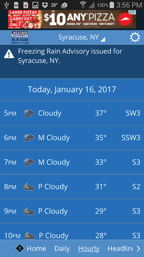 CNY Central Weather- screenshot