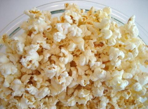 Pop the popcorn according to packaging. remove from Original packing and place in a...