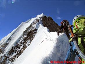 Photo: Ric_IMG_3520 io a cavalcioni sulla cresta nevosa