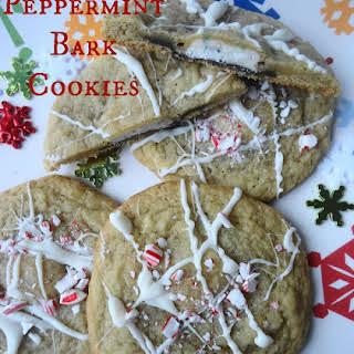 Peppermint Bark Cookies.