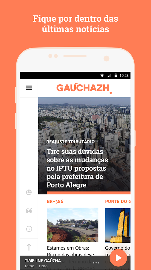 GauchaZH- screenshot
