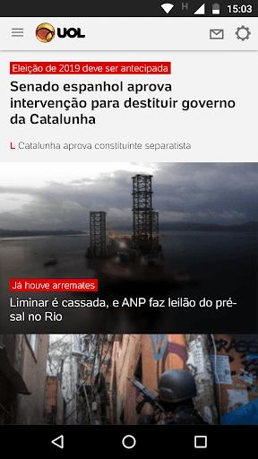 UOL - Notu00edcias em Tempo Real 2.32.2 screenshots 2