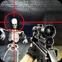 Skeleton 3D : Survival Shootout Free icon