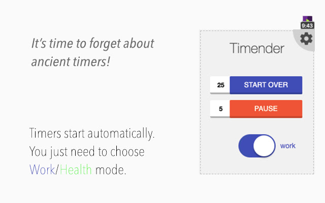 Timender - AI productivity Manager