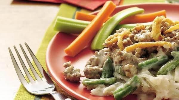 Slow Cooker Beef And Creamy Potato Casserole Recipe