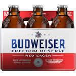 Anheuser-Busch Budweiser Freedom Reserve Red Lager