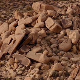 Bubbles by Savannah Eubanks - Landscapes Deserts ( rocks, boulders, perspective, desert, landscape )