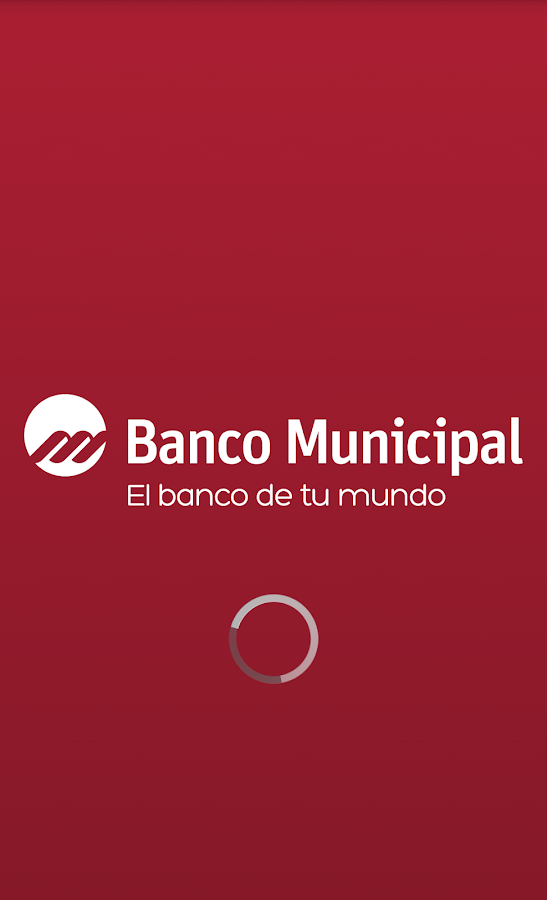 Banco Municipal Movil: captura de pantalla