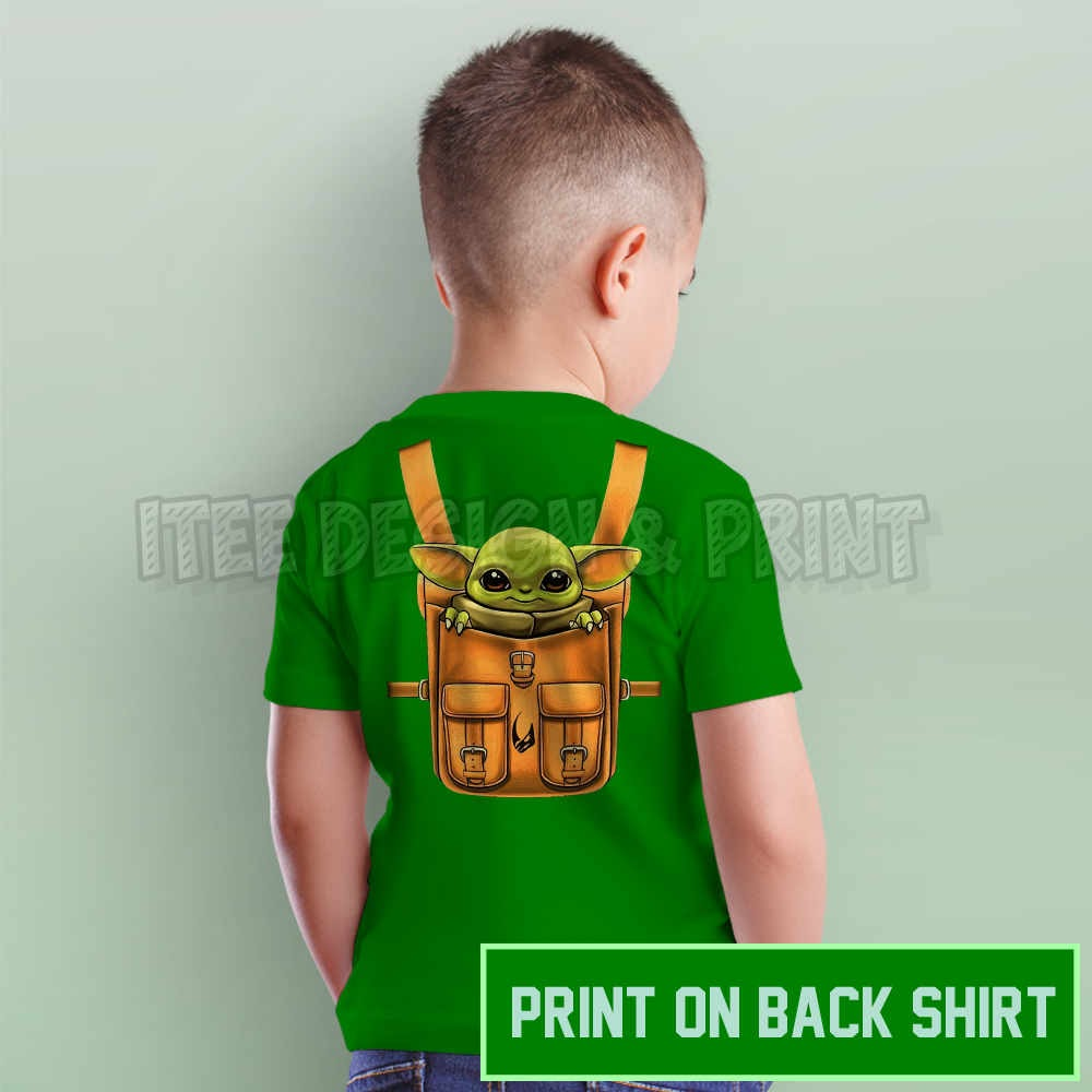 Yoda Star War Backpack 19