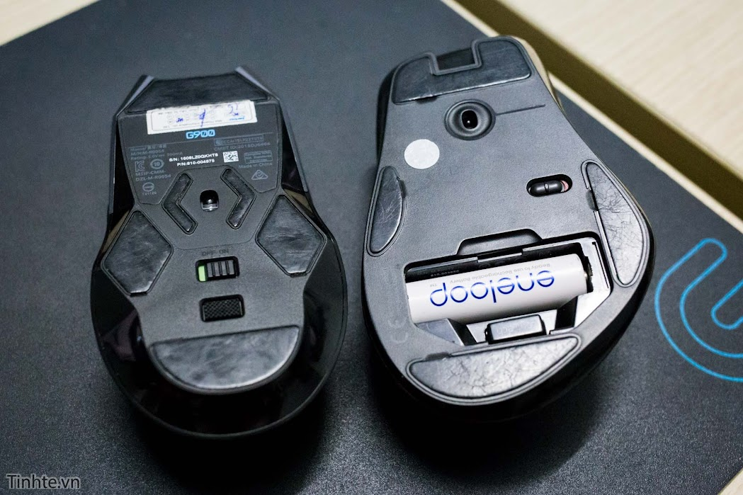 Trên tay chuột chơi game không dây Logitech G900 Chaos Spectrum, giá trên 3,6 triệu