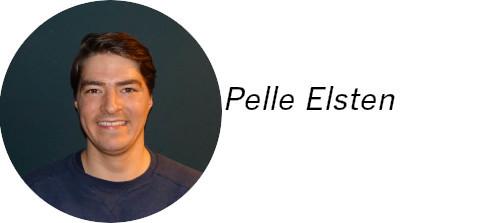 Handtekening Pelle Elsten