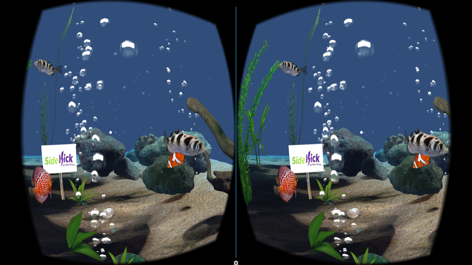 Aquarium VR- screenshot