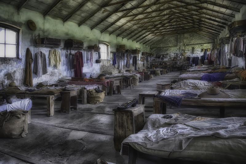 Il dormitorio delle mondine... di Gianva