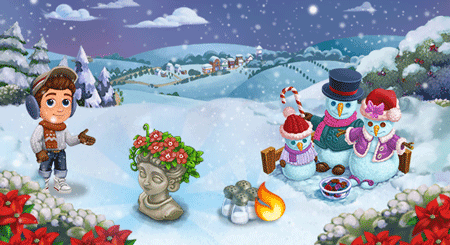 farmville 2 snowman workshop