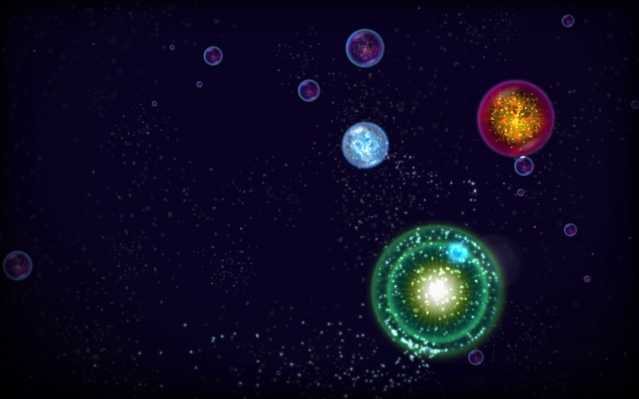Osmos HD- screenshot