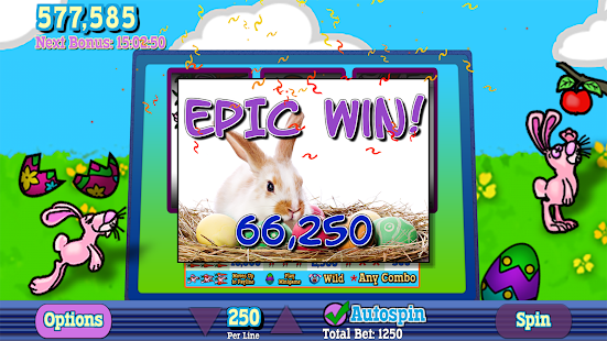 Easter bunny slots play casino game just for fun play totally free easter slot machine online and mobile friendly at free slots 4ueaster bunny gathers spring thecheapjerseys Images