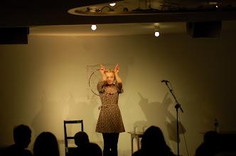 Photo: Mariann Hole framførte WRRR på Torshovteatret 8. mars 2012