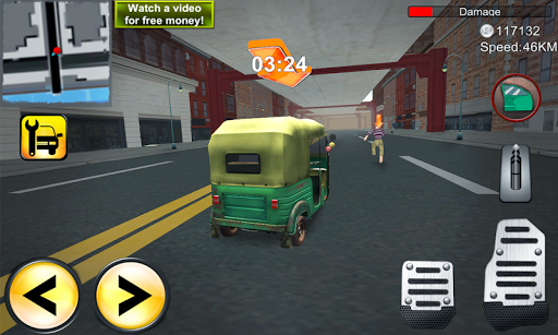 Tuk Tuk Car City Rickshaw 3D