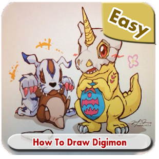 How to Draw Easy Digimon - náhled