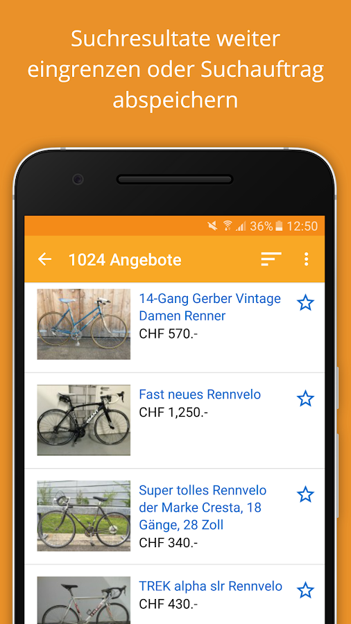anibis.ch – free classifieds- screenshot