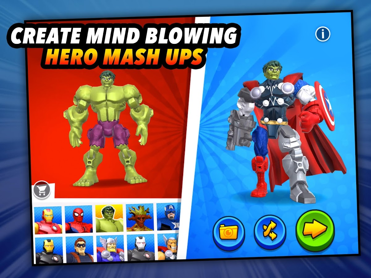 Mix+Smash: Marvel Mashers- screenshot