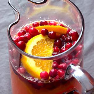 Sparkling Cranberry Sangria.