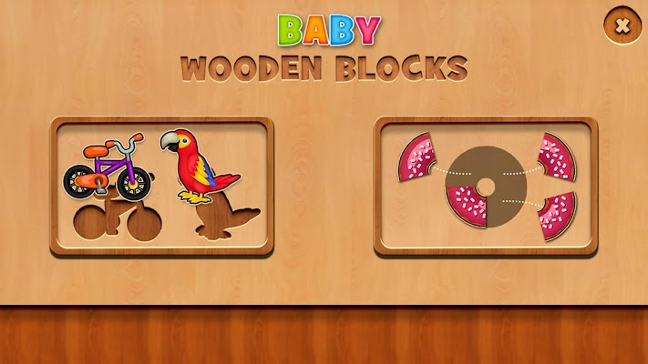 Baby Wooden Blocks - screenshot