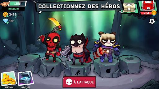 Télécharger Fury Wars - jeux en ligne mod apk screenshots 1