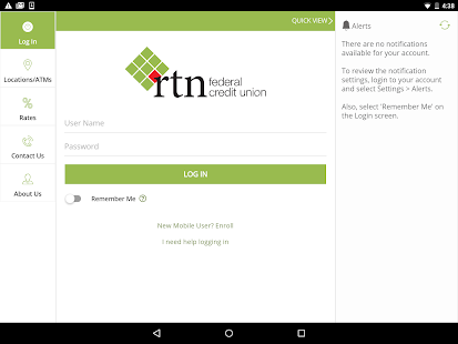 RTN FCU Mobile- screenshot thumbnail