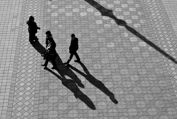 shadows in Sevilla di pima